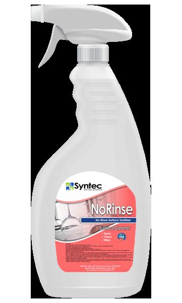No Rinse Sanitizer