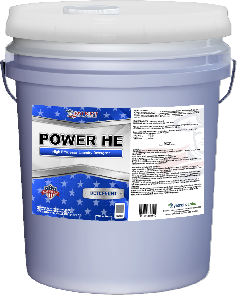 Patriot Chemical® Power HE