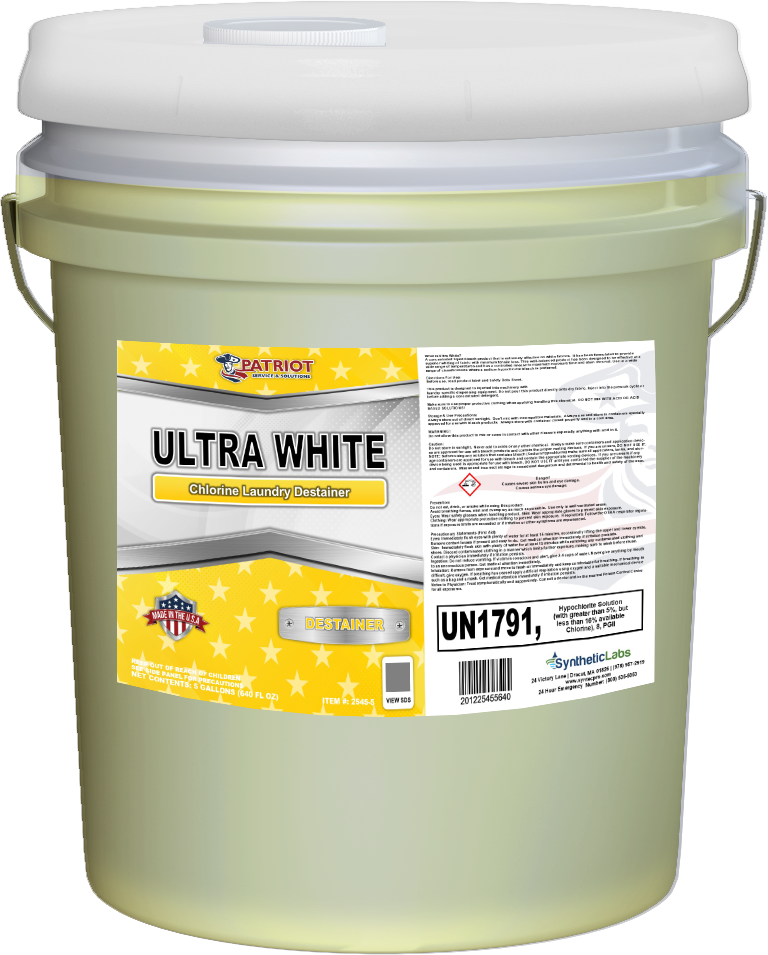 Patriot Chemical® Ultra White