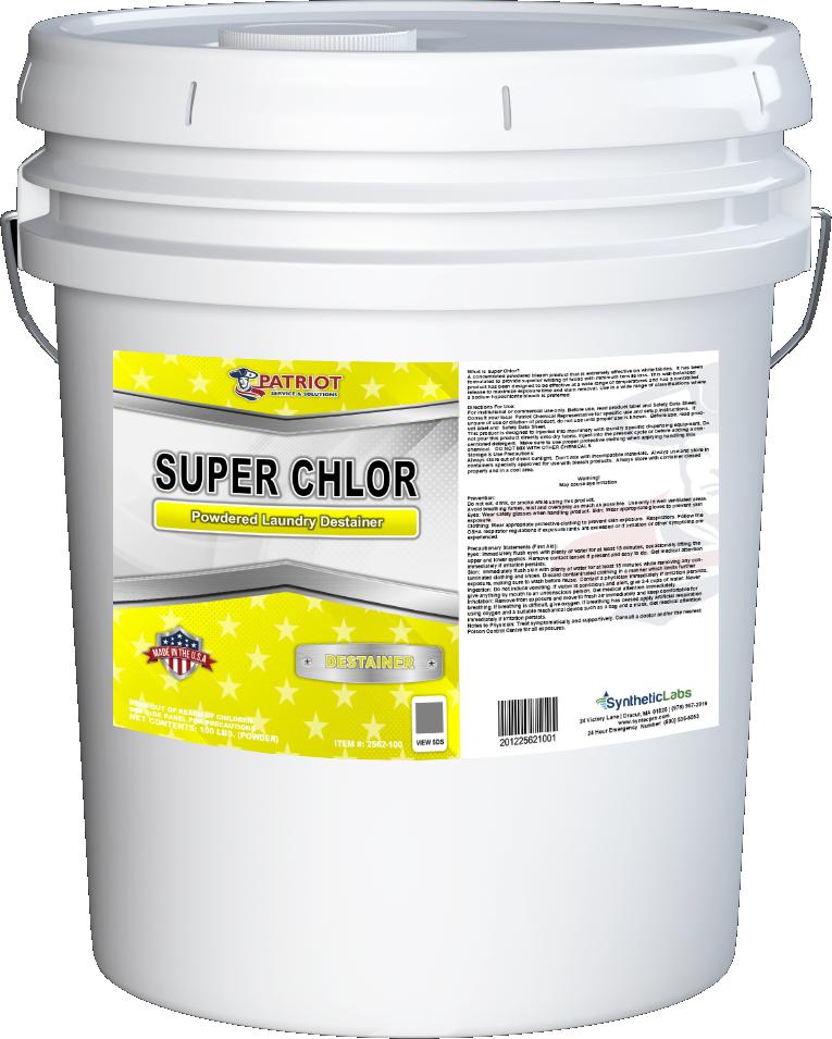 Patriot Chemical® Super Chlor