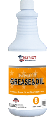 Patriot Chemical® G-Gone Grease & Oil