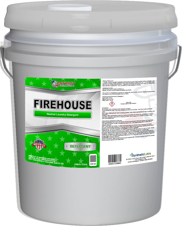 Patriot Chemical® Fire Hosue Detergents