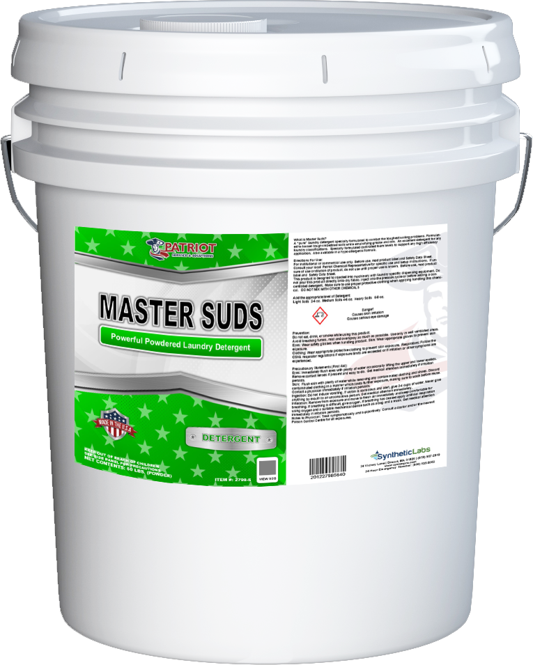 Patriot Chemical® Master Suds